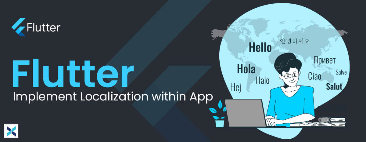 flutter implement localization within app