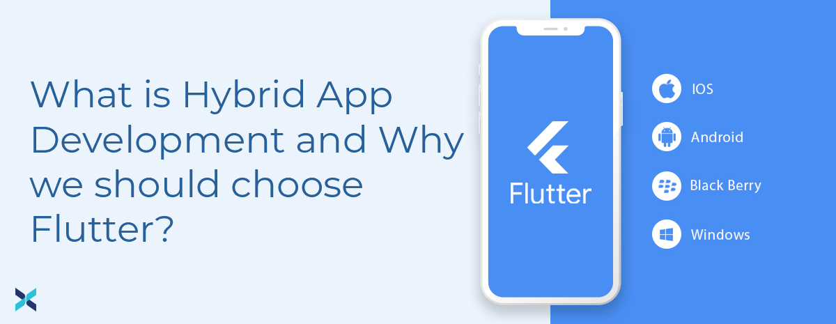 hybrid application development with flutter