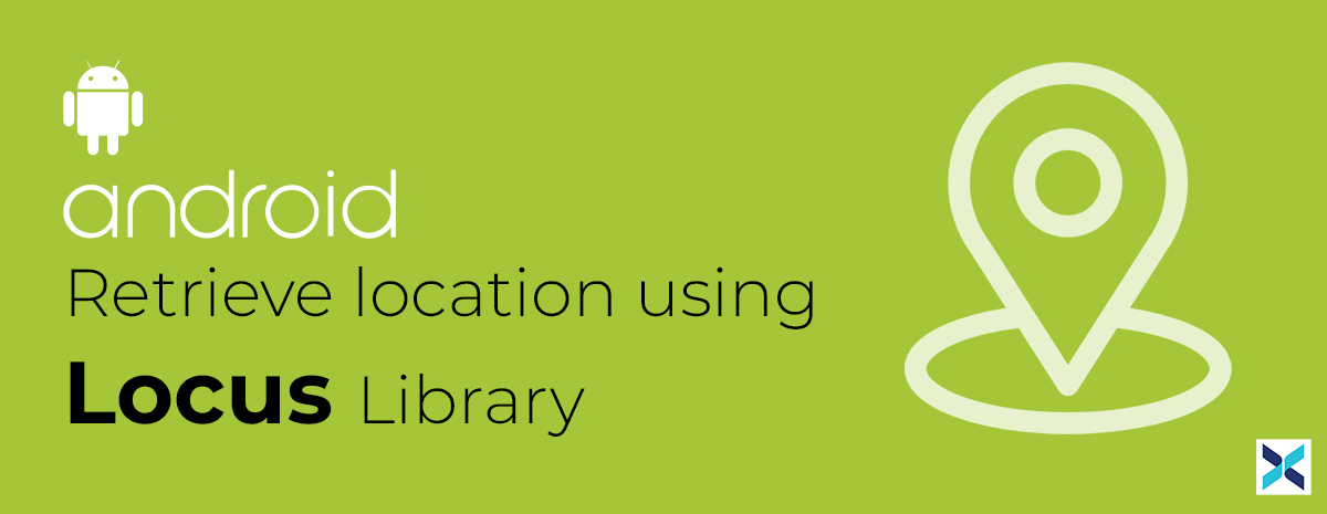 retrieve location using locus library in android