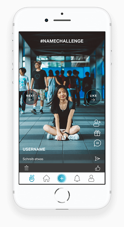 Social Photo & Video Challenge App