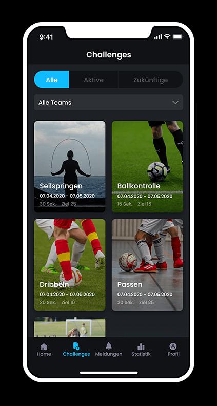 Coach & Player Training App