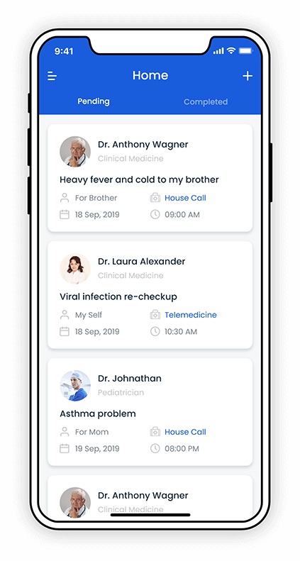 On-Demand Medical Services Application