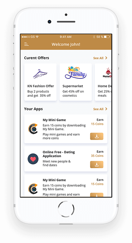 App Marketing & Rewards Application